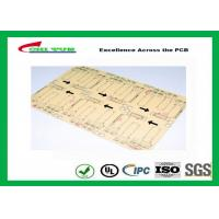 Quality CNC / V-CUT Surface Finish Single Sided Printed Circuit Board with Black Sillkscreen wholesale