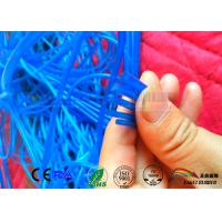 Quality Transparent Blue color silicone tubing 3mm Diameter ;ring silicone extruded seal wholesale