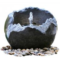 Quality Polised Finishing Modern Garden Fountains / Small Outdoor Fountains With Lights wholesale