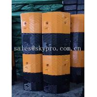 Quality Reflective rubber speed hump Molded Rubber Products road speed ramp wholesale