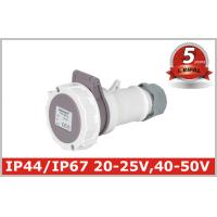 Quality Low Voltage Industrial Coupler , Industrial Electrical Plugs And Sockets wholesale