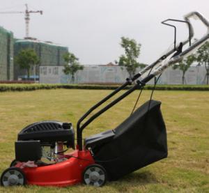 Cheap 2.5HP / 3600rpm Gas Line Lawn Mower Low Vibration 99cc Displacement for sale