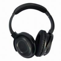 Buy cheap Noise-canceling Headphones with 30Hz to 20kHz Frequency, 100mW Output Power and from wholesalers