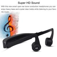 Quality Wireless  Gym Waterproof bone conduction microphone bluetooth Headset for Sport wholesale