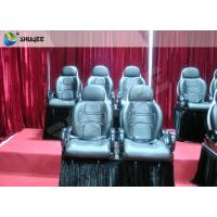 Quality Red Color Electronic System 5D Cinema Equipment Motion Seat With Special Effect wholesale
