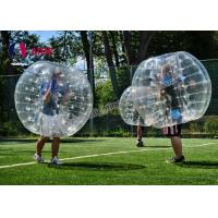 Quality Popular Inflatable Water Walking Ball , Bubble Soccer Ball For Entertainment wholesale