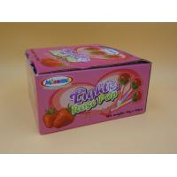 Quality All Natural Rose Hard Strawberry Candy Lollipops Sugarless Zero Calorie wholesale