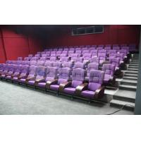 Quality Comfortable 3D theater seating furniture / 4D movie theater seats for auditorium wholesale