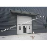 China Private Customized Industrial Garage Doors For Warehouse / Cold Room Storage on sale