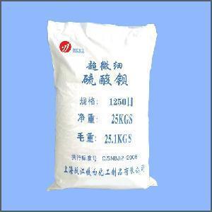 Quality 1250 Mesh Barite (Super fine Barium Sulfate) wholesale