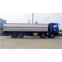 Quality Left Hand Driving Fuel Tanker Truck SINOTRUK 8 * 4  For chemical liquid transport wholesale