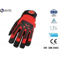 Quality Nitrile Mens Safety Hand Gloves Comfortable Fit Dexterous Durable Impact Protection wholesale