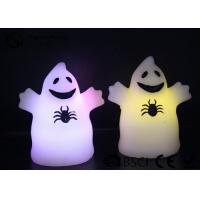 Quality Cute Ghost Shaped Halloween Led Candles Paraffin Wax Material HL-009 wholesale
