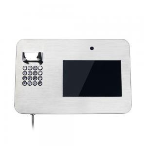 China SUS316 Anti Vandal Telephone Prison Telephone 1280*800 IPS on sale