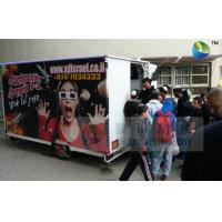 Quality Amazing Mobile Truck 5D Cinema With 6 Seats And Special Effects Inside wholesale