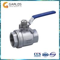 Quality 2PC female thread stainless steel ball valve wholesale