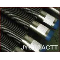 Quality Welded Helical	Spiral Finned Tubes For Economizer / Waste Heater Recovery Boiler wholesale