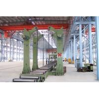 China Tanks 360 Degree Overturning Rotator Chain Tilting Machine for H beam Productions Line on sale