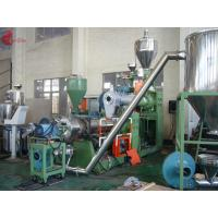 China 185 KW Two Stage PVC Plastic Pelletizing Line 60rpm , Pellet Maker Machine on sale