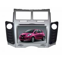 Quality Toyota Yaris Car GPS Navigation System 5 Inch RGB 800 X 480 TFT Monitor wholesale