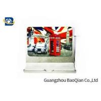 Quality PET Fridge Lenticular Magnet Souvenir 4 Color 3D UV Printing 0.45mm Thickness wholesale