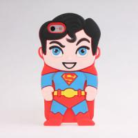 China 3D America Spiderman Silicone Rubber Cover Case For iPhone5 on sale