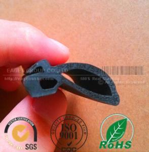 Quality air sealed rubber soundproof sponge EPDM seal profiles wholesale