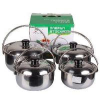 Quality 4PCS Stainless Steel Food Pan wholesale