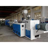 Quality UPVC / PVC Pipe Extrusion Line Full Automatic Plastic Pipe Production Line wholesale