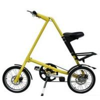Quality Yellow / Red Light Alloy Bike 16 Inch Mini Foldable New Simple Design Folding wholesale