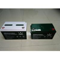 Quality Black Front Access 12v Deep Cycle Battery  For Solar / Inverter , 150ah Capacity wholesale