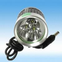 China LED Bicycle Light Set with 6061-T6 Aluminum Housing, 1,200lm Luminous Flux and Constant Light Output on sale