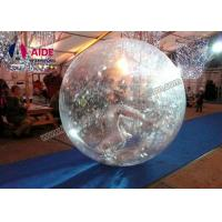 Quality Inflatable Water Walking Ball Zorb Ball 2M Dia Inflatable Balls You Can Get Inside wholesale