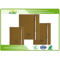 Quality 70G / 80G / 90G Custom Embossed Notebook with Recycled Paper Inner Material wholesale