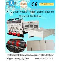 Quality Auto Chrome Carton Making Machine 60pcs/min With Chain Feeding Model For Printing wholesale