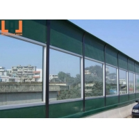 Glass Wool Inner Transparent PMMA Soundproof Fencing Panels Noise Proof Fence for sale