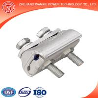 Buy cheap CAPG bimetallic type cable clamp PG parallel groove Clamp from wholesalers