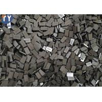Quality Dark Shiny Surface Tungsten Carbide SS10 Tips For Tufa Machine , Longlife wholesale