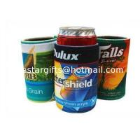 Quality 4mm Insulated Stubby Neoprene Can Cooler Base For 310ml - 330ml Can / Beer wholesale
