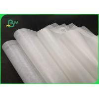 Quality 40gsm Natural White Greaseproof Paper For Burger Wrapping 76CM Food Safe wholesale