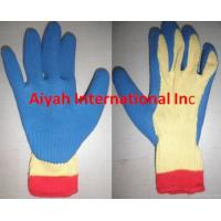 Quality Kevlar With Latext Coated Glove Cut-resistant Glove(ce) wholesale