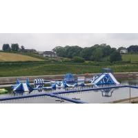 Quality Giant Inflatable Water Park Games In Belfast  / Inflatable Water Circuit Manufacturer wholesale