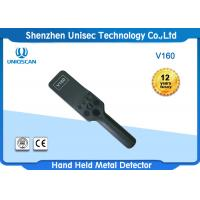Quality Airport Handheld Metal Detector Wand 100 Hours Long Standby Time V160 wholesale