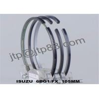 China Rik Piston Ring Set For ISUZU Engine Piston Rings 6BG1 Engine Parts on sale