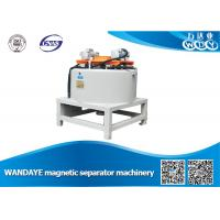 Quality Automatic 3T Dry Magnetic Separator With Water / Oil Double Cooling wholesale