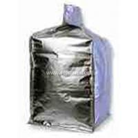 Quality Customized size Foil / poly liner - inserted at top bulk bag , form fit Shape wholesale