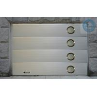 China Insulated Automatic Garage Doors With Windows , Remote Control on sale