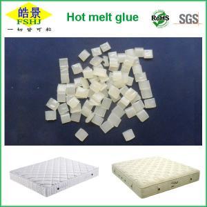 Quality White Hot Melt Glue Adhesive For Nonwoven To Sponge , Hot Melt Pellets OEM Service wholesale