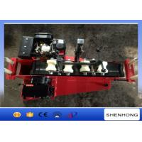 Quality 5KN Diesel Cable Hauling Machine / Cable Pulling Winch for Pulling 30-110 mm Cable wholesale