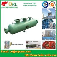 Quality Coal Fired CFB Boiler Drum High Strength , Water Tube Boiler Drum 100 T wholesale